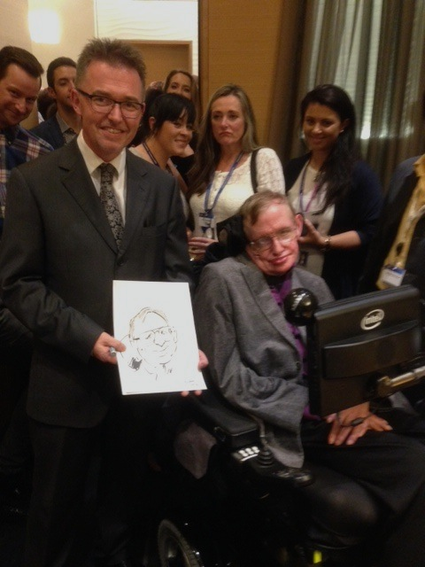 Me and Professor Hawking