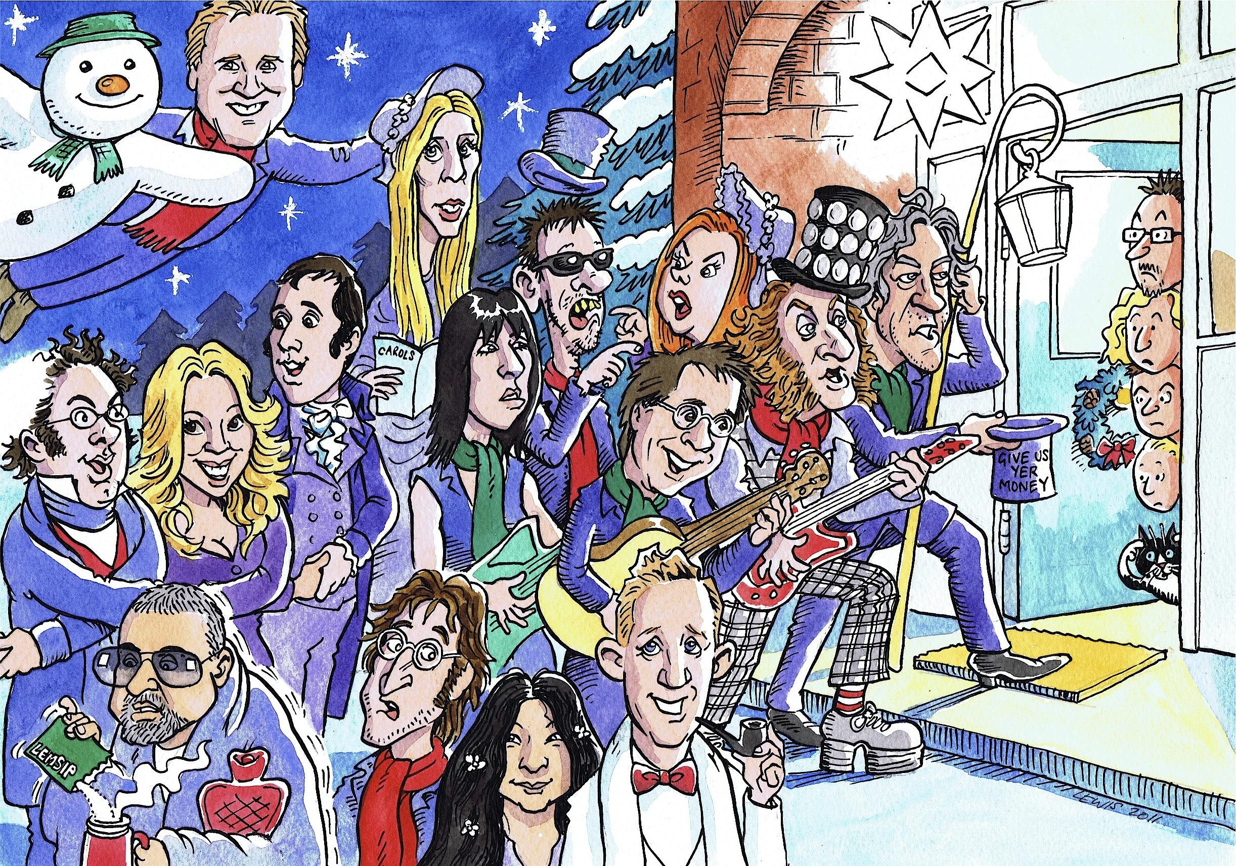 Christmas Cards - David Lewis Cartoons